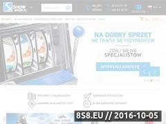 Miniaturka domeny www.snowshop.pl