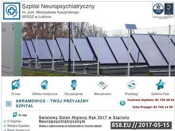 Zrzut strony SNZOZ Lublin - diagnostyka