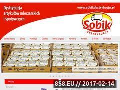 Miniaturka domeny sobikdystrybucja.pl