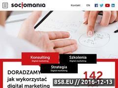 Miniaturka domeny socjomania.pl
