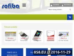 Miniaturka domeny www.sofiba.pl