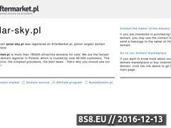 Miniaturka domeny www.solar-sky.pl