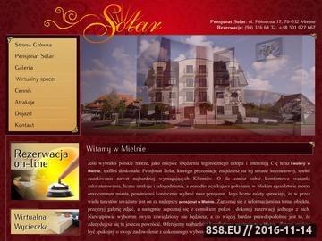 Zrzut strony Apartamenty Mielno - Solar