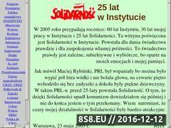 Miniaturka domeny www.solidarnosc.jurek.waw.pl