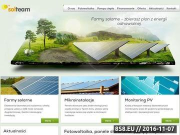 Zrzut strony SOLTeam