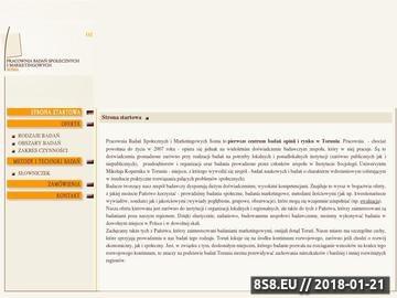 Zrzut strony Soma - badania statystyczne