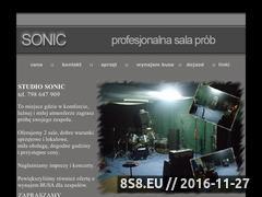 Miniaturka domeny www.sonic.apu.pl