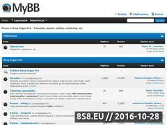 Miniaturka domeny sonyvegas.cba.pl