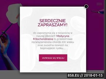 Zrzut strony Gabinet kosmetyczny Gdynia