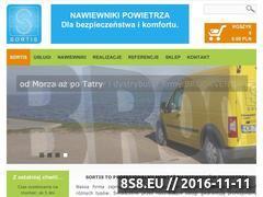 Miniaturka domeny www.sortis.net.pl