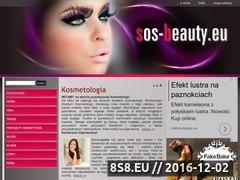 Miniaturka domeny www.sos-beauty.eu