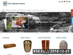 Miniaturka domeny www.sosagencjafuneralna.pl