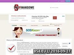 Miniaturka domeny www.sosfinansowe.pl