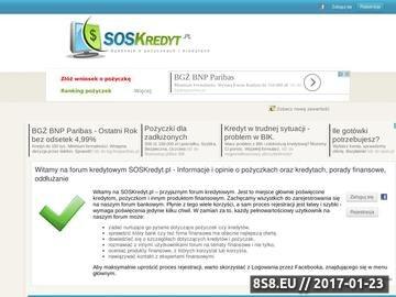Zrzut strony SOSKredyt - forum pożyczkobiorców
