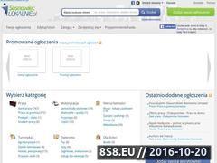 Miniaturka domeny sosnowieclokalnie.pl