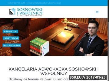 Zrzut strony Adwokat Gliwice