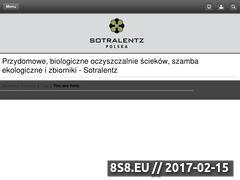 Miniaturka domeny www.sotralentz.pl