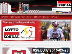 Miniaturka domeny www.soudal.pl