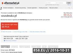 Miniaturka domeny soundmake.pl