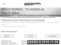Miniaturka domeny www.spaceworks.pl