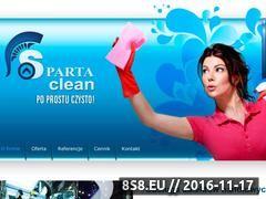 Miniaturka domeny www.spartaclean.pl