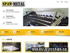 Miniaturka domeny www.spaw-metal.com.pl