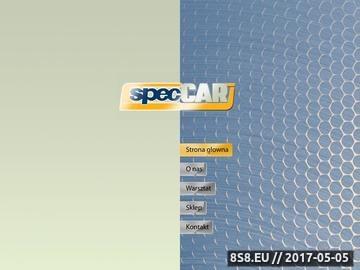 Zrzut strony SPEC CAR regeneracja silników