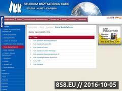 Miniaturka domeny www.specjalistyczne.skk.pl