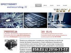 Miniaturka domeny spectrenet.pl