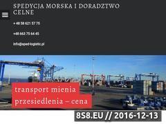 Miniaturka domeny sped-logistic.pl