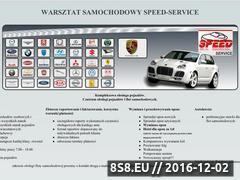Miniaturka domeny www.speedautoserwis.pl