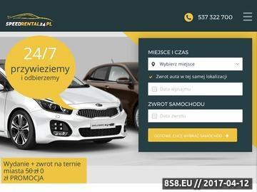 Zrzut strony Wypożyczalnia pojazdów Wrocław