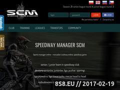 Miniaturka domeny speedwaycm.com