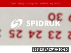 Miniaturka domeny spidruk.pl