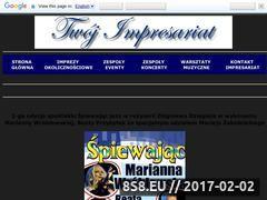 Miniaturka domeny spiewajacjazz2.twoj-impresariat.pl