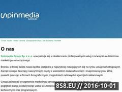 Miniaturka domeny www.spinmedia.pl