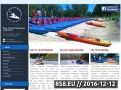 Miniaturka domeny www.splywanie.pl