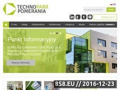 Thumbnail of Inkubator technologiczny, wynajem biur Szczecin Website