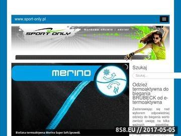 Zrzut strony Sport-only.pl - buty puma, adidas, nike, caterpillar