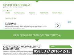 Miniaturka domeny www.sport-rekreacja.pl