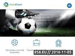 Miniaturka domeny www.sportandtravel.com.pl