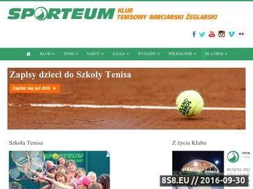 Zrzut strony Szkółka narciarska i szkoła tenisa Warszawa