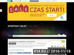 Miniaturka domeny www.sportowy-sklep.blog.pl