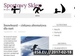Miniaturka domeny www.sportowysklep.eu