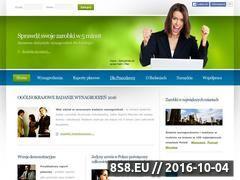 Miniaturka domeny www.sprawdz-zarobki.pl