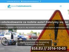 Miniaturka domeny sprawdzodszkodowanie.pl