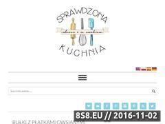 Miniaturka domeny sprawdzonakuchnia.pl