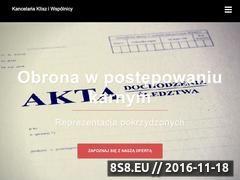 Miniaturka domeny sprawy-karne.biz.pl