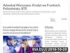Miniaturka domeny www.sprawy-przeciwko-bankom.pl