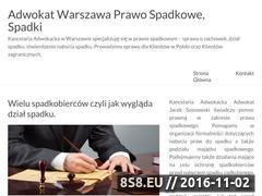 Miniaturka domeny sprawy-spadkowe.warszawa.pl